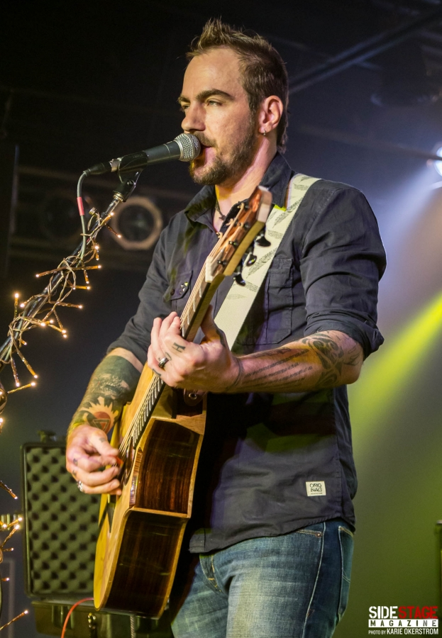 Adam Gontier At The Machine Shop 6 18 2016 Side Stage