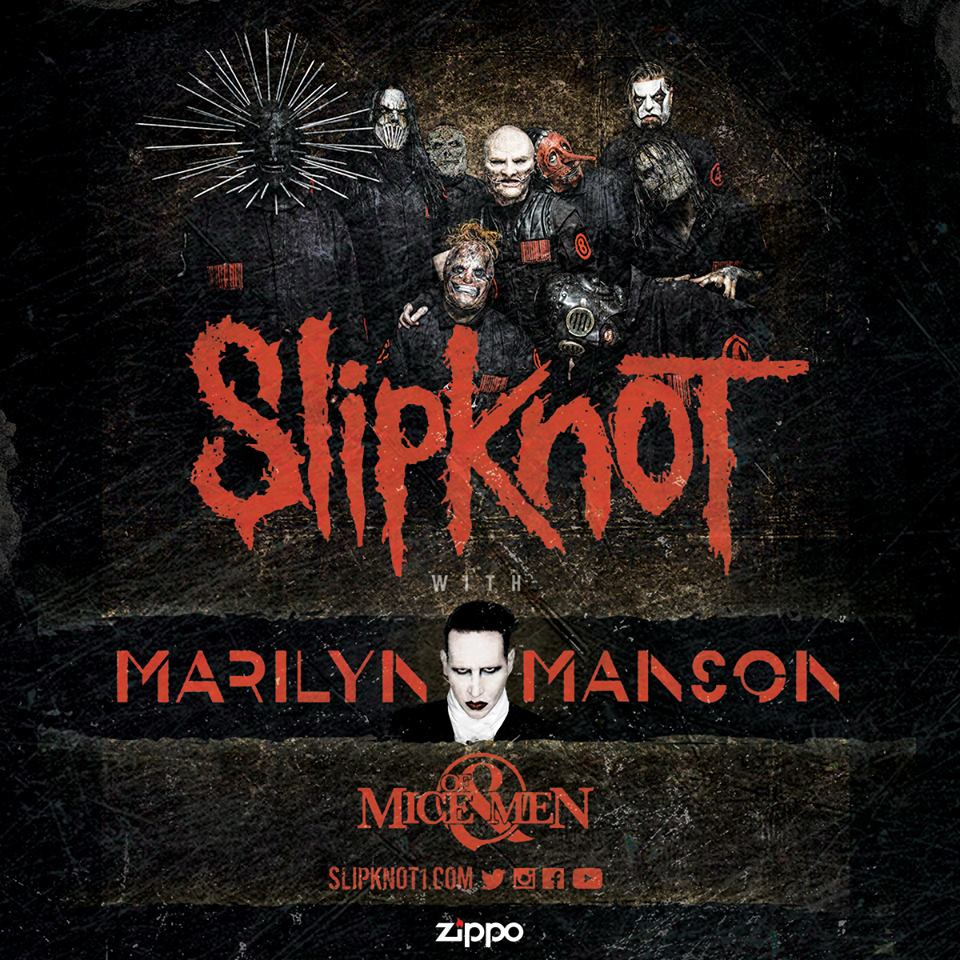 Slipknot and marilyn manson to tour in 2016 side stage magazine kristyandbryce Choice Image