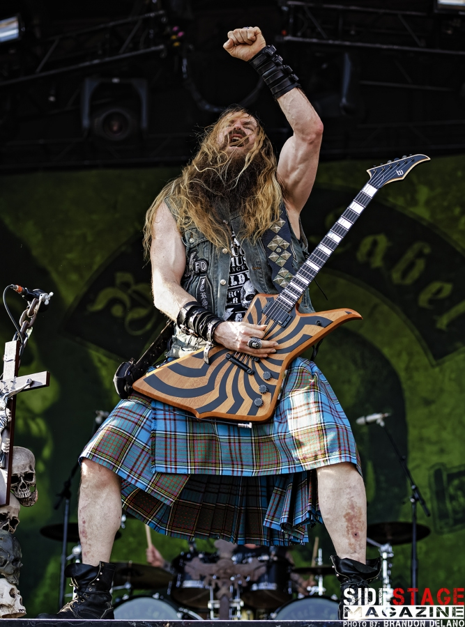 It is a photo of Insane Black Label Society Setlist 2020