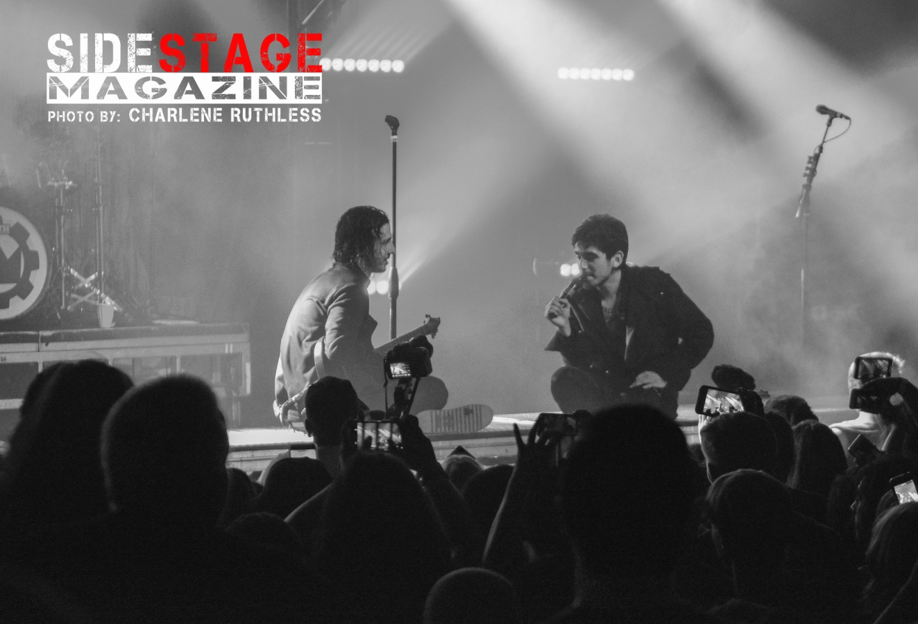 Crown The Empire At Ace of Spades Sacramento, CA 7-26-2019 - Side