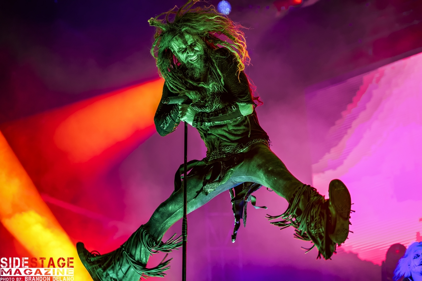 Rob Zombie At Epicenter Festival Rockingham, NC 5-10-2019